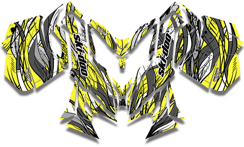 Berner Ski-Doo REV-XM Sled Wrap - SCS Unlimited