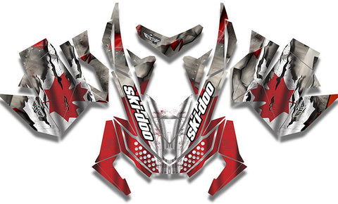 Canadian Colors Sled Wraps - SCS Unlimited