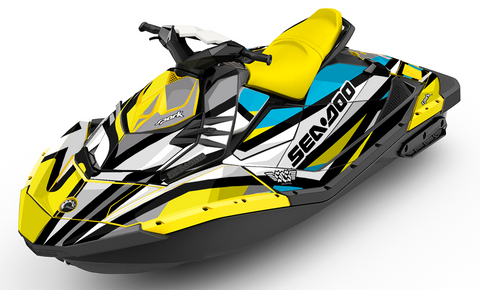 Sea-Doo® Spark Graphics - Only Officially Licensed Sea-Doo Wraps
