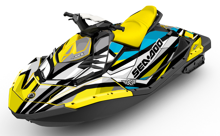 Chatter Sea-Doo Spark Graphics - SCS Unlimited