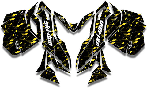 Circuit Board Ski-Doo REV-XM Sled Wrap - SCS Unlimited