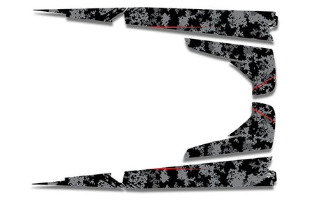 Digital Camo Sled Wraps - SCS Unlimited