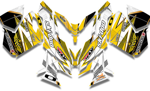 Frisby Gold Sled Wrap - SCS Unlimited