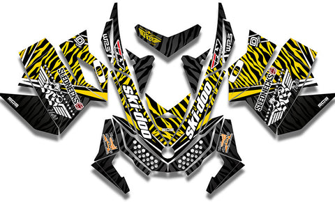 Heath Frisby Zebra Sled Wraps - SCS Unlimited