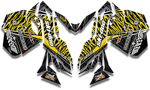 Frisby Zebra Sled Wrap - SCS Unlimited