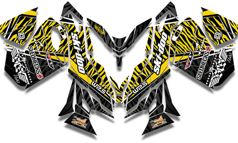 Heath Frisby Zebra Sled Wrap - SCS Unlimited