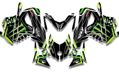 Frisby Monster Sled Wraps - SCS Unlimited