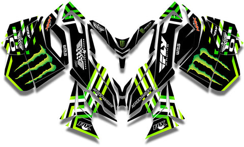 Frisby Monster Sled Wrap - SCS Unlimited