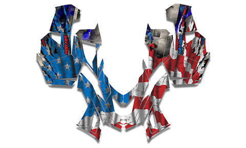 Industrial America Sled Wraps - SCS Unlimited