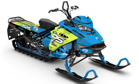 JMetty Sled Wraps - SCS Unlimited