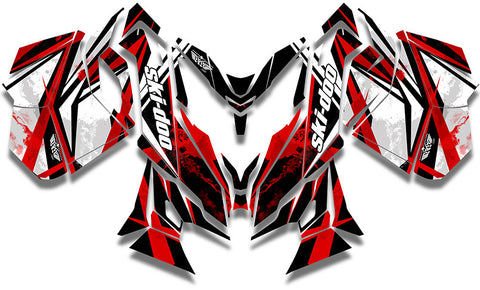 Katana Ski-Doo REV-XM Sled Wrap - SCS Unlimited