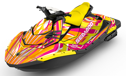 Lazer Sea-Doo SPARK Graphics Kit