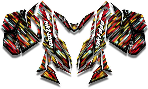 Lightwave Ski-Doo REV-XM Sled Wrap - SCS Unlimited