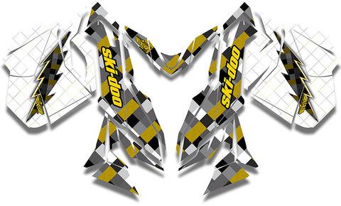 Lumberjack Ski-Doo REV-XM Sled Wrap - SCS Unlimited
