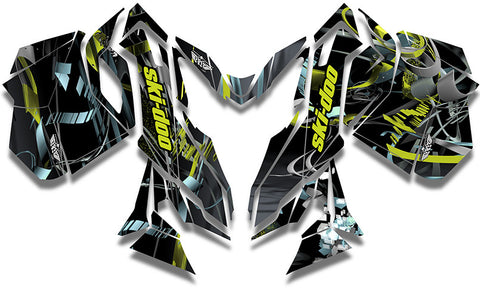 Max Ski-Doo REV-XM Sled Wrap - SCS Unlimited