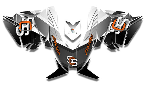 MLB Orange Sled Wraps - SCS Unlimited