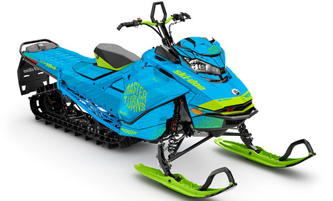 Master of Turns Ski-Doo Gen4 Sled Wrap - SCS Unlimited