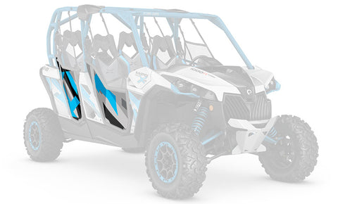 OEM Doors - Octane Blue / Light Grey Can-Am - SCS Unlimited