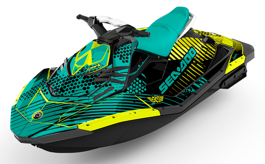 Pourus Sea-Doo Spark Graphics - SCS Unlimited