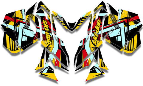 Premium Ski-Doo REV-XM Sled Wrap - SCS Unlimited