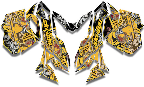 RE-Mix Ski-Doo REV-XM Sled Wrap - SCS Unlimited
