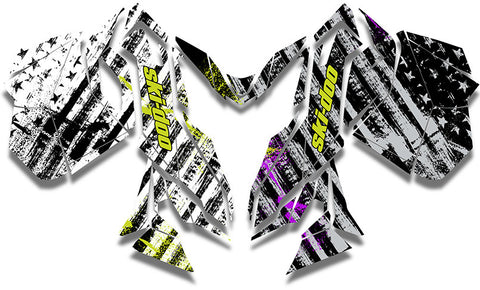 Rise Above Ski-Doo REV-XM Sled Wrap - SCS Unlimited