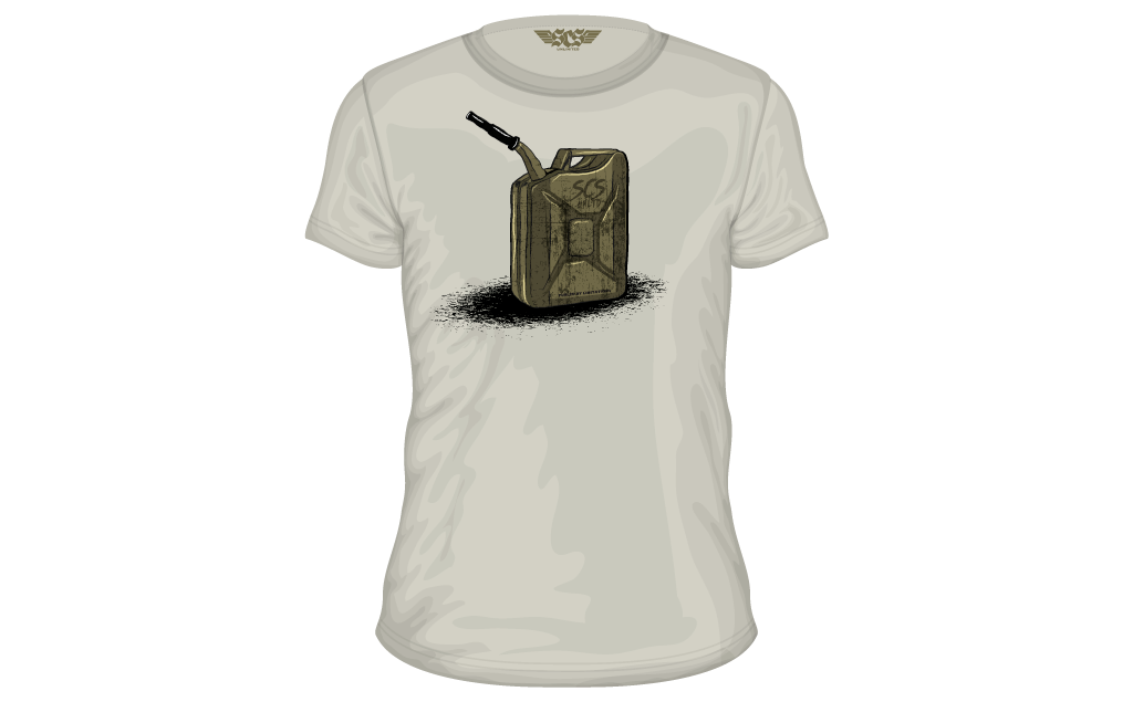SCS T-Shirt | JERRYCAN Accessories - SCS Unlimited
