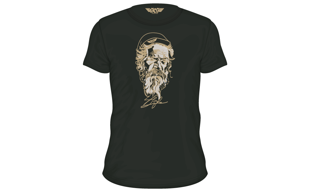 4206e90542 T-Shirt | Old Man Winter - SCS Unlimited