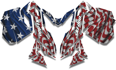 Screaming Freedom Ski-Doo REV-XM Sled Wrap - SCS Unlimited