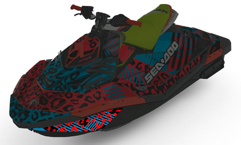 Sea-Doo Spark Hull Graphics Upgrade