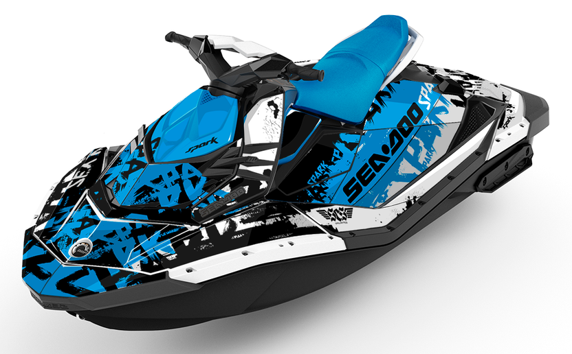 Tomahawk Sea-Doo Spark Graphics - SCS Unlimited