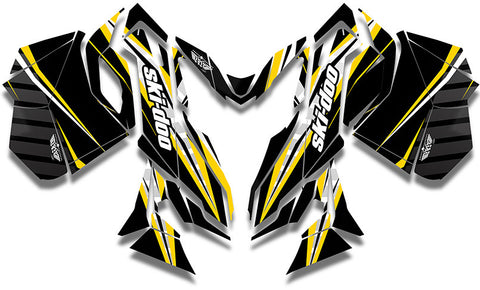 Tron Ski-Doo REV-XM Sled Wrap - SCS Unlimited