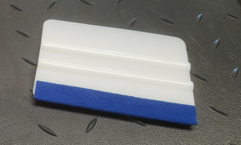 WHITE FELT RIGID SQUEEGEE