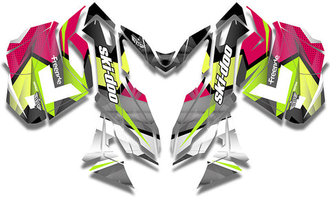Winger Ski-Doo REV-XM Sled Wrap - SCS Unlimited