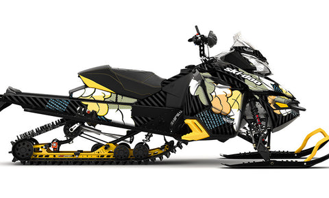 Acid Rain REV-XS Sled Wrap Decal