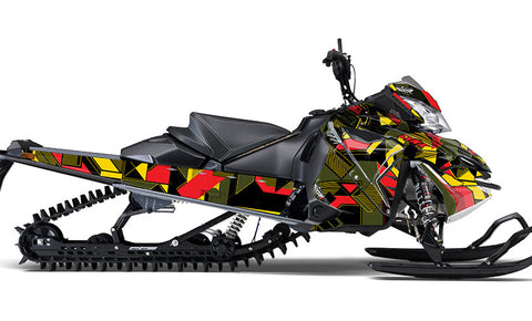 Altered State Rasta Sled Wraps - SCS Unlimited