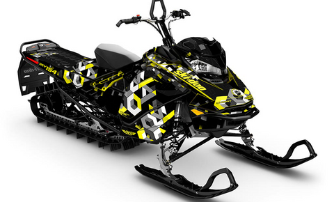 Analog Ski-Doo Gen4 Sled Wrap - SCS Unlimited