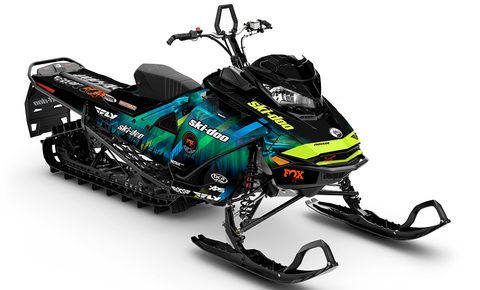 Ashley Chaffin Northern Sled Wraps - SCS Unlimited