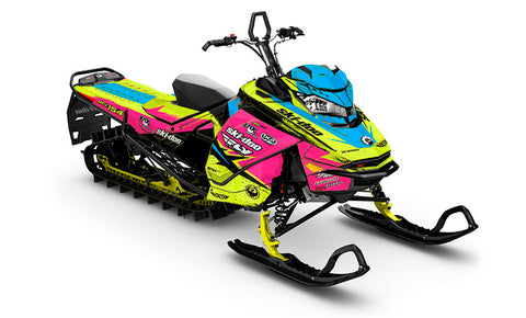 Ashley Chaffin Shred PK Ski-Doo Gen4 Sled Wrap - SCS Unlimited
