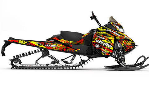 Ashley Chaffin T3 Ski-Doo REV-XM Sled Wrap - SCS Unlimited