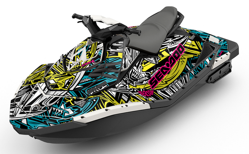 Barracuda Sea-Doo Spark Graphics - SCS Unlimited
