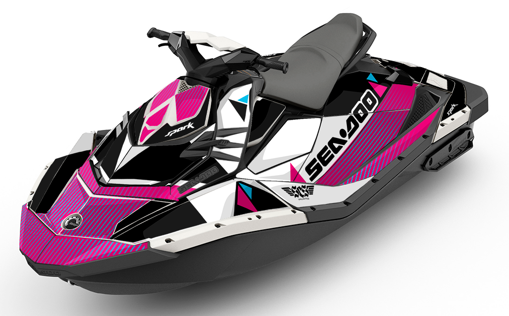 Bermuda Sea-Doo Spark Graphics - SCS Unlimited