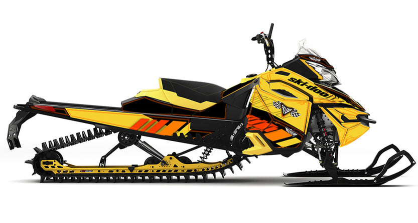 Bringin It Back Ski-Doo REV-XM Sled Wrap - SCS Unlimited