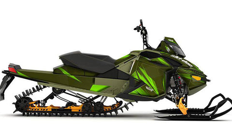 Burning Envy Army Sled Wraps - SCS Unlimited