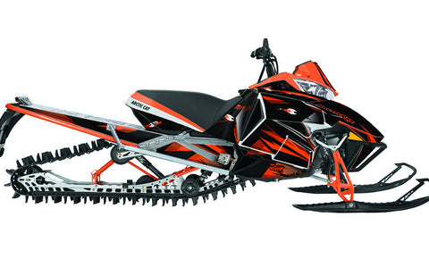 Burning Envy Sled Wraps - SCS Unlimited