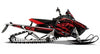 Burning Envy PRO-RMK Sled Wraps Decals