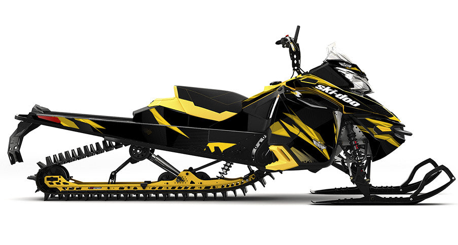 Burning Envy Ski-Doo REV-XM Sled Wrap - SCS Unlimited