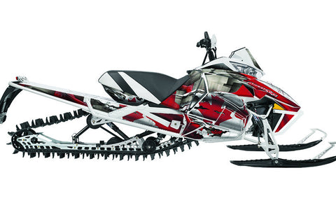 Canadian Colors  Arctic Cat Pro Climb Sled Wraps