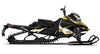 Carbon Yellow REV-XM Sled Wrap Decal