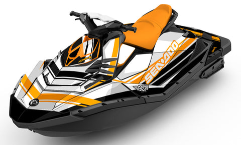 Classic Orange Sea-Doo Spark - SCS Unlimited